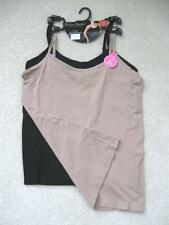NWT Delta Burke Intimates 2 Pack Seamless Adjustable Strap Camis