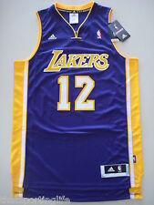 LOS ANGELES LA LAKERS PURPLE BASKETBALL JERSEY #12 DWIGHT HOWARD MENS NEW ADIDAS