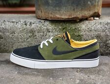 Nike SB Stefan Janoski Black Logan Green Laser Orange Premium QS New