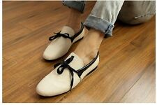 White Mens Canvas Smart Casual Lace Slip On Loafer Moccasins Woven Driving Shoes