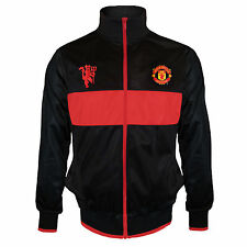 Manchester United FC Official Football Gift Mens Retro Track Jacket (RRP £39.99)