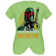 Star Wars - Boys Boba Fashion Newborn Infant Romper