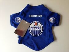 NEW EDMONTON OILERS PET DOG HOCKEY JERSEY ALL SIZES