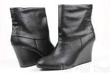 Style & Co Zany Black Wedge Ankle Boots