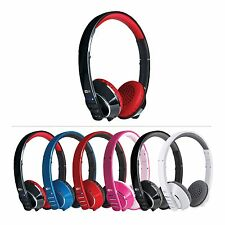 MEElectronics Air-Fi AF32 Runaway Stereo Bluetooth Wireless Headphones with Mic