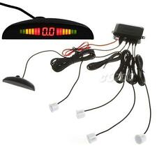 4 Parking Sensors Reverse Backup Radar System with Backlight LED Display JMHG
