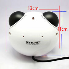 3.5mm USB Rechargeable PC Macbook Tablet MP3 Music Cell Phone Cute Panda Speaker