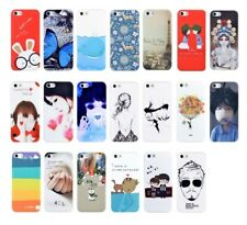 20 Fashion Colorful Pattern Design Soft Back Case Cover for Apple iPhone 5 5S