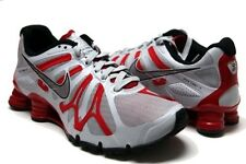 NEW NIKE MENS SHOX Roadster + 13 Shoes Gray/Silver/Red 525155-006