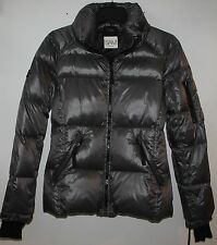 SAM Freestyle Down Puffer Jacket Coat Anthracite Charcoal grey New W Tags - 295$