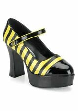 Pleaser BUZZ-66 4 Inch Heel Bumble Bee Platform Women's Size Shoe