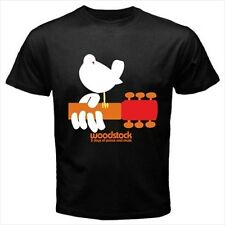 Woodstock 3 Days Of Peace New Mens T-Shirt S M L XL 2XL 3XL Cotton