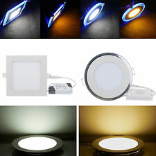 High Bright 3W-20W LED Recessed Ceiling Panel Down Light Dimmable Ampoules Lampe
