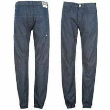 Fabric Cuff Chinos With Jean Look Mens Brand New With Tags Bargain Price