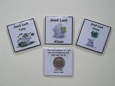 Personalised Lucky Sixpence Good Luck Favours for any Occasion Free P&P
