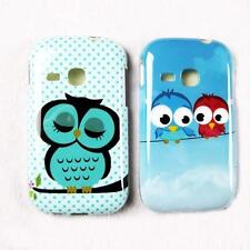1 x Super Cute OWL TPU Gel Back Case Cover For SAMSUNG GALAXY YOUNG S6310