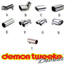 E-Tech Engineering Polished Stainless Steel Exhaust Trims - Car/Motorsport/Rally