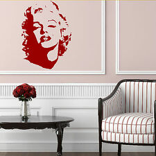 Marilyn Monroe Wall Sticker Graphic Transfer Celebrity Design Art Decoration C22