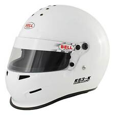 Bell RS3-K Snell approved Race/Racing/Kart/Karting/Go Kart Helmet In White