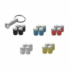Richbrook Spinning Anti Theft Valve Caps - Set Of Four Supplied