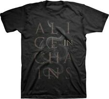 AUTHENTIC ALICE IN CHAINS AIC ALICE SNAKES MUSIC BAND GRUNGE ROCK T SHIRT S-2XL