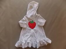 NWT Girl's Gymboree strawberry swim suit cover up ~ 6 12 18 months 2T FREE SHIP!
