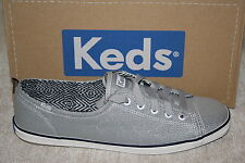 WOMENS KEDS RALLY SPARKLE SILVER SHOES~SIZES IN LISTING (B320)