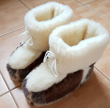Slippers Boots Pure Wool Shoes 4 5 6 7 8 9 10 11 12 13 Sheep perfect gift mules