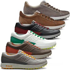Ecco 2014 Mens Street Evo One Golf Shoes Spikeless Hydromax Performance