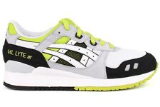 Asics Gel-LYTE III H307N 0101 New Mens White Athletic Running Casual Shoes