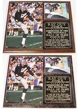 Ray Guy #8 2014 Pro Football Hall of Fame Photo Plaque Oakland Raiders Legend