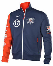 Puma Men's Heritage Yachting Team USA Track Jacket-Dress Blue