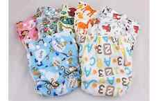 Modern Reusable Washable Baby Cloth Nappy waterproof or furry Surface FreeInsert
