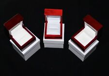Cherry Rosewood Solid Wood Wooden The Ring BoxJewelry Box -Best quality-P