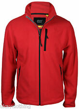 Caterpillar Full Zip Argon Fleece Jacket Red