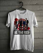 Big Time Rush T-Shirt, New Hoodie White Tee Shirt Size S,M,L,XL,2XL,3XL