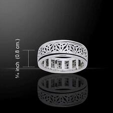 Celtic Trinity Knot Ring TRI884 Size Selectable