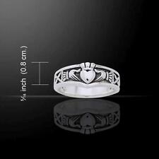 Celtic Spiral Ring TRI893 Size Selectable