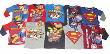 BOYS LONG SLEEVED TOPS MIXED CHARACTERS 1-12 YEARS