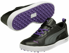 Puma Monolite Golf Shoes 2014 Mens Black/Deep Lavender 187132-02 New