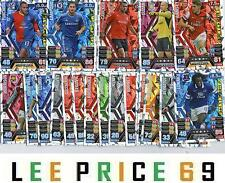 MATCH ATTAX EXTRA 13/14 SILVER GAME CHANGER CARDS OR HAT-TRICK HERO CARDS