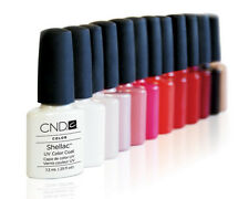 CND SHELLAC ALL 60+ COLORS!! 7.3 ML ** FREE P&P ** 100% AUTHENTIC ***