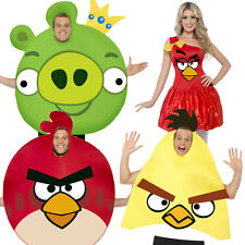 Angry Birds Fancy Dress Costume Official Adult Mens Ladies Animal Game Outfits