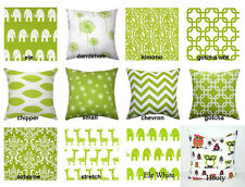 Premier Prints Chartreuse Green Decorative Pillow Cover / Sham Cover