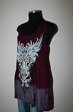 """NEW VOCAL SHIRT """"CROSS WINGS"""" PLUS SIZE 1X 2X 3X style *304"""