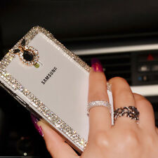 New Crystal Bling  Diamond Cover Clear Case For Samsung Galaxy S3 S4 N7100 N9000
