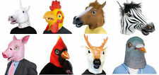 Horse Head Mask Latex Animal Costume Prop Christmas Toys Party Gift Halloween