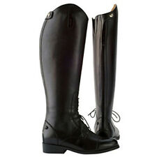 Saxon Ladies Equileather Field Boots - black