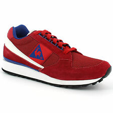 LE COQ SPORTIF ECLAT  RETRO SHOES TRAINERS RUNNING SNEAKERS red white