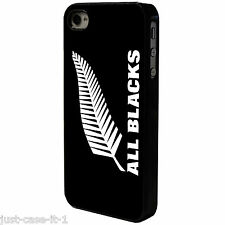 NEW ZELAND ALL BLACKS LEAF RUGBY Phone Case/Cover UK STOCK. iPhone 4 4s 5 5s 5c